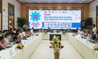 Produkte und Dienstleistungen des Mekong-Deltas in globale Wertketten einbringen