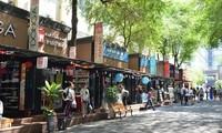 Bücherstraße in Ho-Chi-Minh-Stadt – ein gutes Beispiel für Entwicklung der Lesekultur