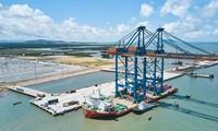 Internationaler Seehafen Gemalink in Betrieb genommen