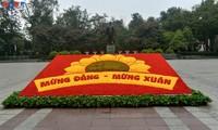 Hanoi wird für den 13. Parteitag bunt dekoriert