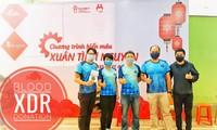 Rennen und Blutspenden in Hanoi, Da Nang und Ho-Chi-Minh-Stadt