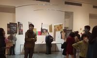 """Ausstellung und Buchvorstellung """"ich schreibe (auf Vietnamesisch)"""" im Goethe Institut Hanoi"""