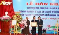 Bewahrung und Entfaltung der Werte des nationalen immateriellen Erbes des Festes Quan The Am – Ngu Hanh Son