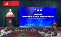 Leitung von Ho-Chi-Minh-Stadt führt Dialog mit jungen Unternehmern