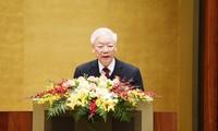 Staatspräsident spielt eine wichtige Rolle in der Entwicklung des Landes