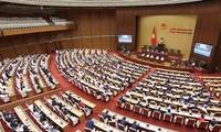 Abschluss der letzten Sitzung des Parlaments der 14. Legislaturperiode
