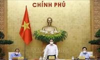 Premierminister Pham Minh Chinh leitet Regierungssitzung für April 2021