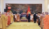 Vietnamesischer Buddhismus spielt eine große Rolle in der Landesverteidigung