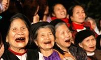 Tag für vietnamesische Senioren: die Schönheit der Alten