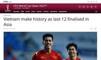 FIFA ist von der vietnamesischen Nationalmannschaft beeindruckt