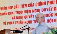 KPV-Generalsekretär Nguyen Phu Trong: Regierung soll ein feiner Apparat sein, der effektiv funktioniert