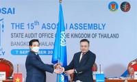 Vietnam gibt den Vorsitz der ASOSAI an Thailand