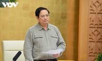 Premierminister Pham Minh Chinh: Lockerung der sozialen Distanzierung muss vorsichtig durchgeführt werden