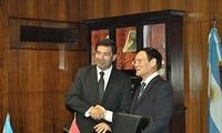 Vietnam dan Argentina menanda-tangani permufakatan kerjasama pabean