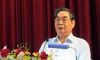 """Pertemuan dengan buruh dan pekerja tipikal yang mendapat penghargaan """"Nguyen Duc Canh"""""""