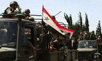Tentara Suriah merebut kontrol di banyak kotamadya