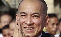 Raja Kamboja mengimbau untuk menangani secara damai semua sengketa pasca pemilu Parlemen