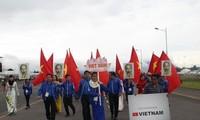 Delegasi Vietnam menghadiri Festival ke-18 Pemuda dan Mahasiswa Internasional