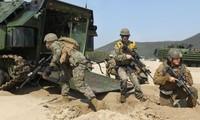 RDR Korea mengimbau kepada Republik Korea supaya membatalkan semua latihan perang bersama dengan AS