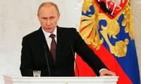 Presiden Rusia membacakan pesan istimewa tentang penggabungan Krimea ke dalam Rusia