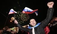 Ukraina memberikan reaksi terhadap penggabungan Krimea ke dalam Federasi Rusia