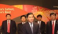 Badan usaha Singapura memperhatikan lingkungan investasi di Vietnam