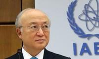 Direktur Jenderal IAEA, Yukiya Amano mengunjungi Iran