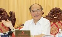 Ketua MN Vietnam, Nguyen Sinh Hung menghadiri AIPA ke-35 di Laos