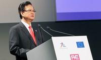 Acara pembukaan Konferensi Tingkat Tinggi ke-10 Asia-Eropa di Italia