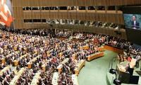 Opini umum internasional mendukung meminta kepada AS supaya menghapuskan embargo terhadap Kuba