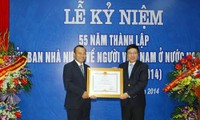 Memperingati ultah ke-55 Hari Berdirinya Komite Negara urusan orang Vietnam di luar negeri