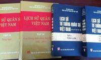 Mengumumkan dua buku: Sejarah Militer Vietnam dan Sejarah Fikiran Militer Vietnam