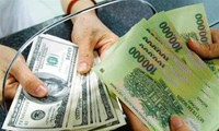 Bank Negara Vietnam menyesuaikan kurs mata uang VND/USD