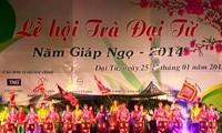 Festival Teh Dai Tu, provinsi Thai Nguyen diadakan secara bergelora