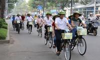 """4.000 mahasiswa ikut serta dalam perjalanan naik sepeda """"Maju ke Sai Gon"""""""