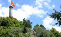 """Temu pergaulan kesenian """"Api Remaja"""" di Tiang bendera nasional Lung Cu"""