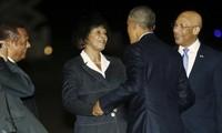 Presiden AS melakukan perlawatan ke Jamaika dan Panama