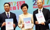 Pemerintah Hongkong (Tiongkok) mengumumkan rencana pemilu menurut prinsip satu orang satu suara.