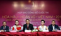 Mengumumkan Kontes Miss Universe Vietnam tahun 2015
