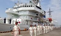 Kapal polisi laut Jepang mengunjungi kota Da Nang