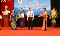 Memuji tipikal-tipikal maju dalam Serikat buruh pegawai Vietnam