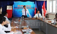 Acara pengumuman hubungan hotline tentang perlindungan warga Vietnam di Czech