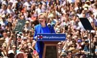 Capres Hillary Clinton resmi mencanangkan kampanye mencalonkan diri
