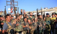 Tentara Suriah merebut kembali kota kuno Palmyra sebelah Barat dari tangan IS