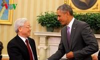 Kunjungan Sekjen Nguyen Phu Trong di AS membuka satu halaman baru dalam hubungan Vietnam-AS