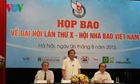 Kongres ke-10 Persatuan Wartawan Vietnam akan berlangsung dari 7 sampai 9 Agustus 2015
