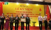 Deputi PM Vietnam, Nguyen Xuan Phuc menghadiri acara peringatan ultah ke-70 Berdirinya Kementerian Dalam Negeri