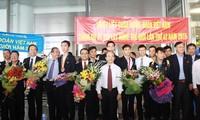 Rombongan Vietnam untuk pertama kalinya merebut medali