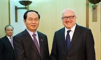 Memperluas kerjasama antara Kementerian Keamanan Publik Vietnam dengan badan-badan pelaksana hukum Australia
