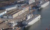 Perancis dan Mesir mencapai permufakatan tentang perjualan dua kapal perang Mistral